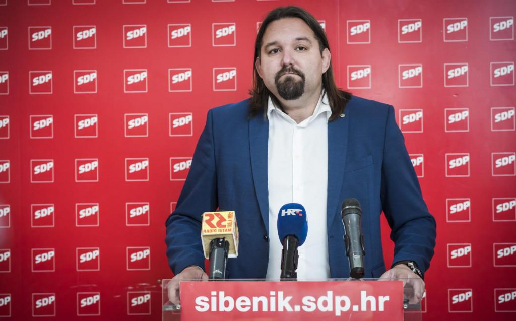 Tonči Restović, predsjednik SDP-a Sibenik