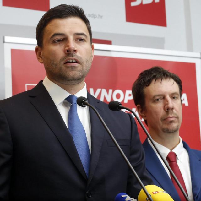 Davor Bernardić i Saša Srića