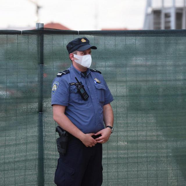 Zadar, 210620.<br /> Atmosfera na Visnjiku nakon sto je otkazan turnir Adria tour zbog tenisaca koji je pozitivan na koronavirus.<br />