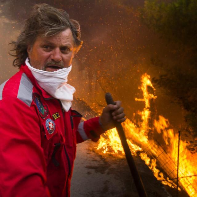 Požari kod nas najčešće izbijaju zbog vjetra, a njega će ovoga ljeta biti u izobilju<br /> Tom Dubravec/HANZA MEDIA