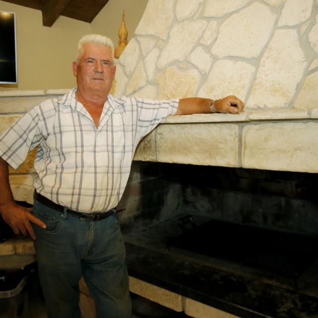 Mateo Dedić, vlasnik 'Vile Mateo'
