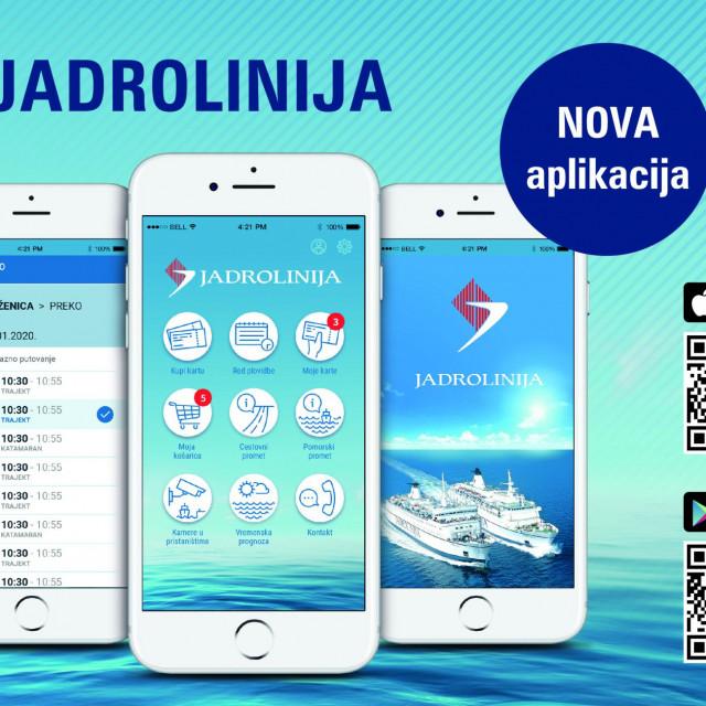Nova verzije mobilne aplikacije Jadrolinije