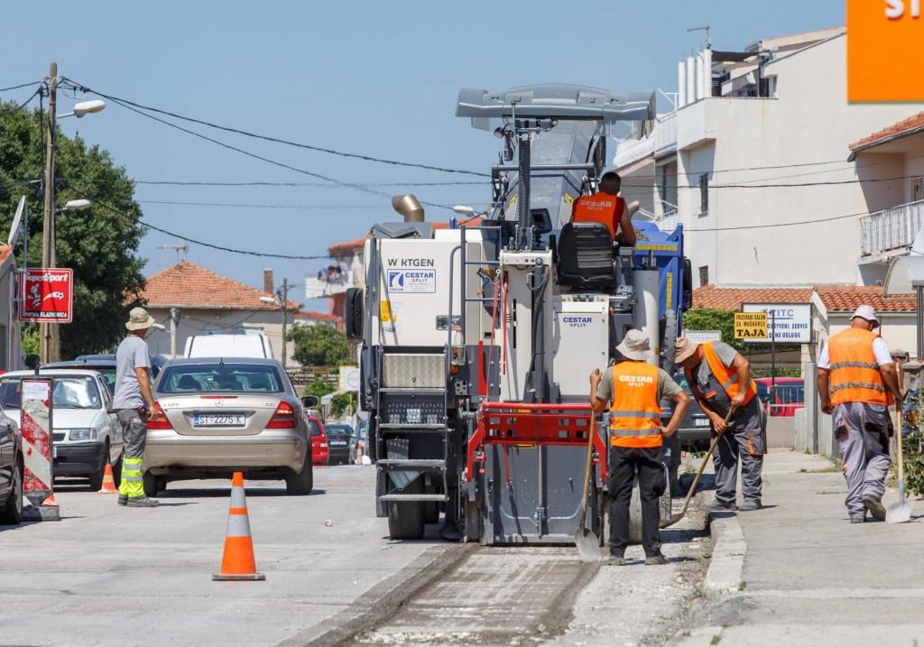 'Cestarovi' radnici angažirani su na još jednom gradskom zahvatu JAKOV PRKIĆ/HANZA MEDIA