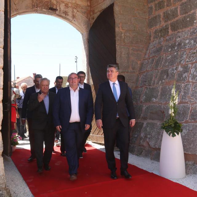 Predsjednik Zoran Milanović prisustvovao je otvaranju obnovljenog<br /> kaštela Morosini Grimani