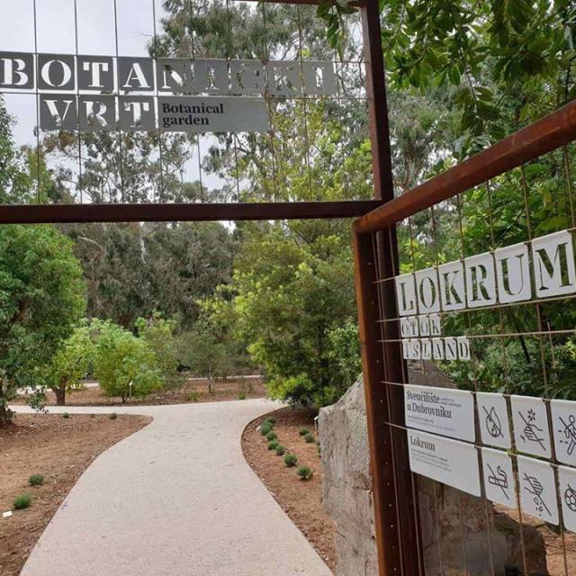 Botanički vrt na Lokrumu nakon obnove