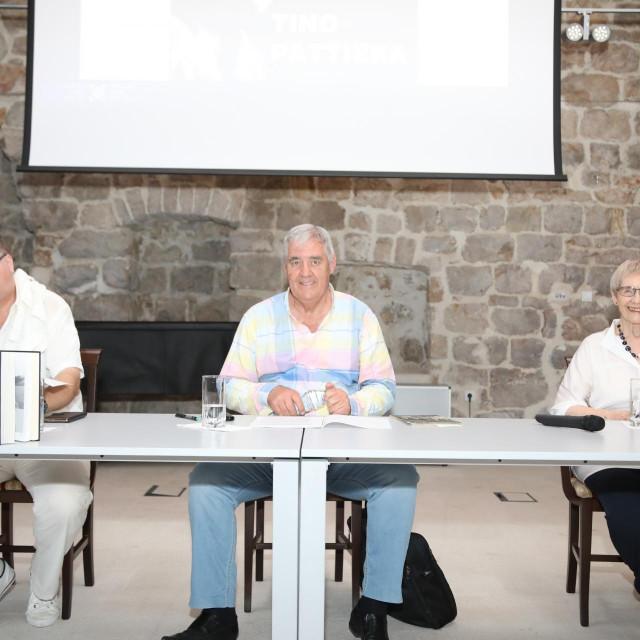 Slijeva: Denis Ajduković, Vido Peručić i Franica Vidović