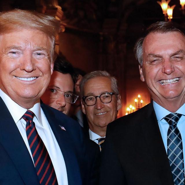 Američki predsjednik Donald Trump i njegov brazilski kolega Jair Bolsonaro