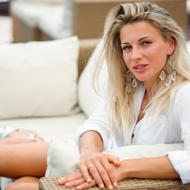 Mia Kalašić, nogometašica Orobica Bergamo provodi godišnji odmor u Pagu prije nastupa na finalnom izboru za Miss sporta.
