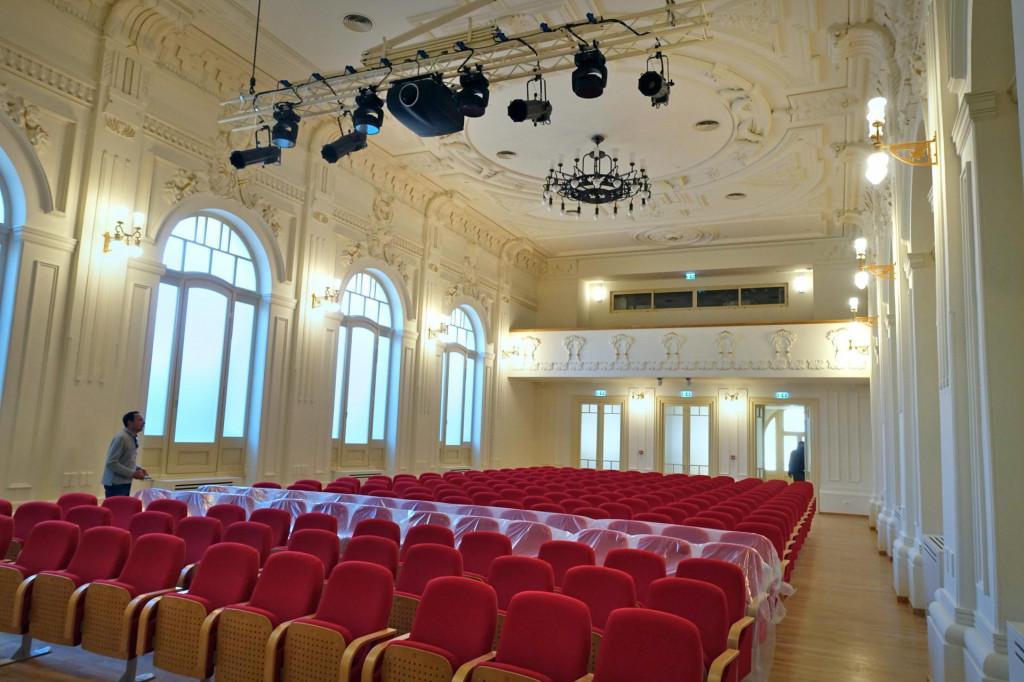 Koncertna dvorana u Hrvatskom domu moze primiti 250 posjetitelja