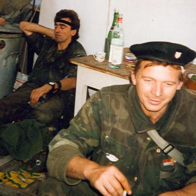 Josip Abel snimljen u Vukovaru