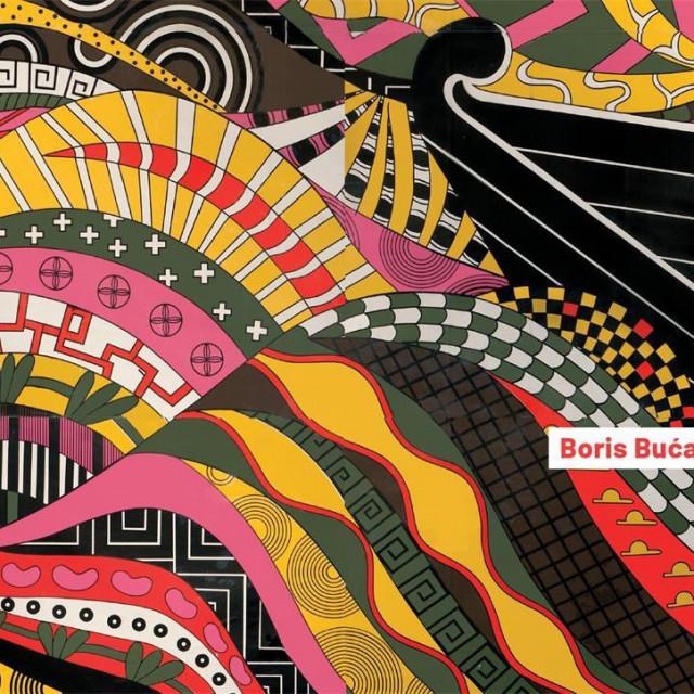 najavni plakat poljske izložbe Borisa Bućana