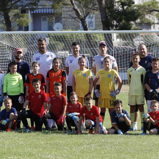 Kamp je okupio 39 mladih vratara iz dalmatinskih klubova
