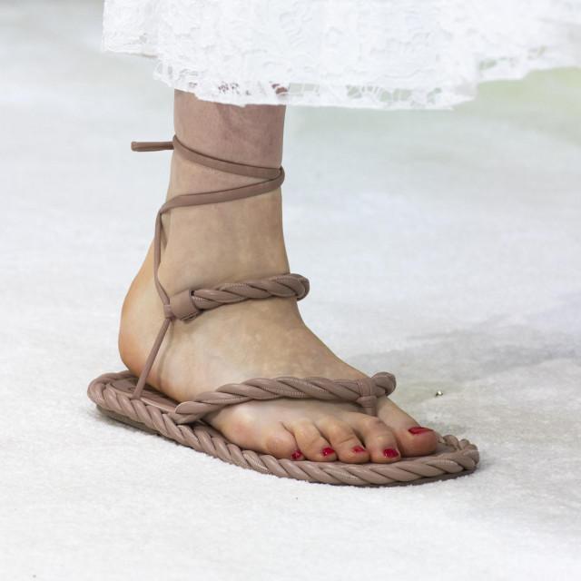Valentino catwalk fashion show at Paris Fashion Week SS20