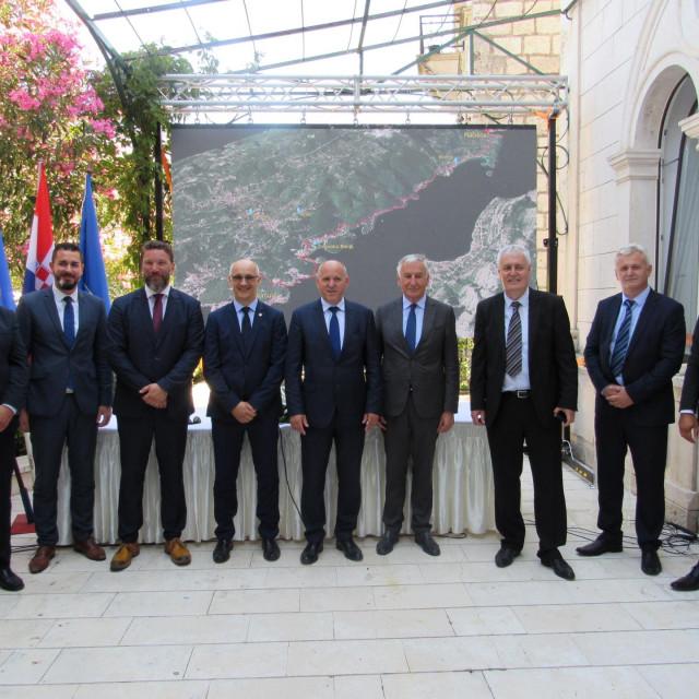 veliki dan za Korčulu; potpisana četiri velika projekta
