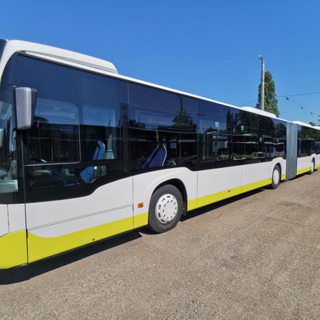 Novi autobusi većim se dijelom izrađuju u Mecedesovoj tvornici u njemačkom Mannheimu
