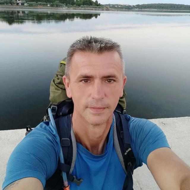 Damir Šimunić na kraju puta, na Kamenjaku