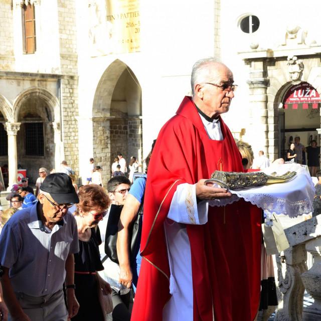 proslava blagdana ruke sv. Vlaha