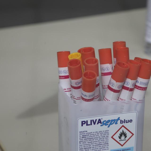 Sve je pripremljeno za testiranje na koronavirus