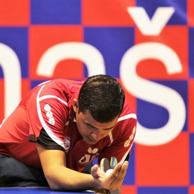 Miho Simović, stolnotenisač Libertas Marinkolora - vlasnik zlata, dva srebra i četiri bronce sa seniorskih državnih prvenstava foto: Tonči Vlašić