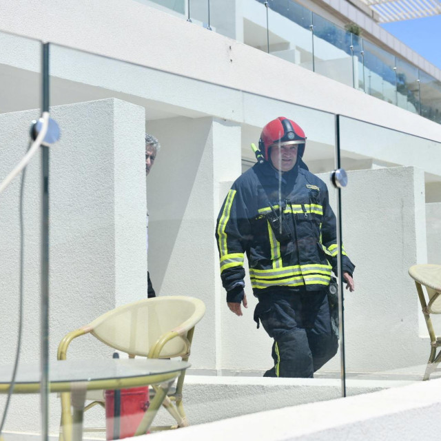 Dojava požara u Rixos Premiumu