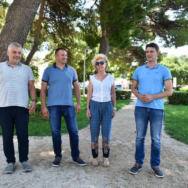 Press konferencija MOST-a u Parku Luja Šoletića u Dubrovniku