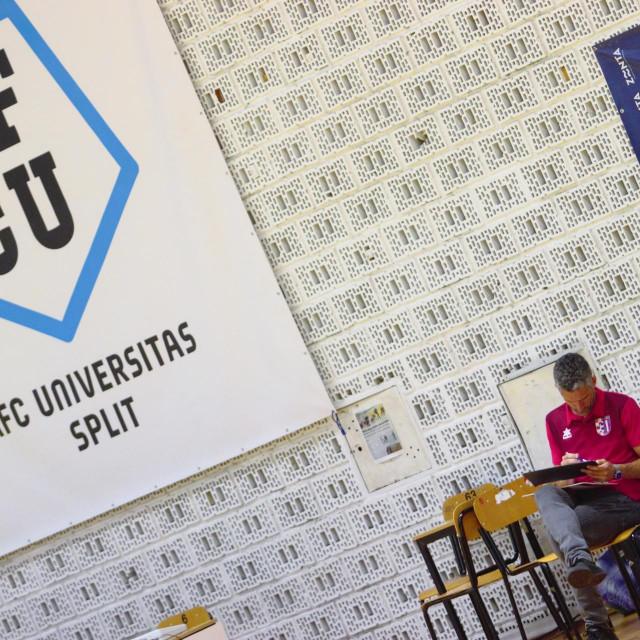 Prva HMNL, 18. kolo, Split: AFC Universitas - Square 7:9 foto: Tonči Vlašić