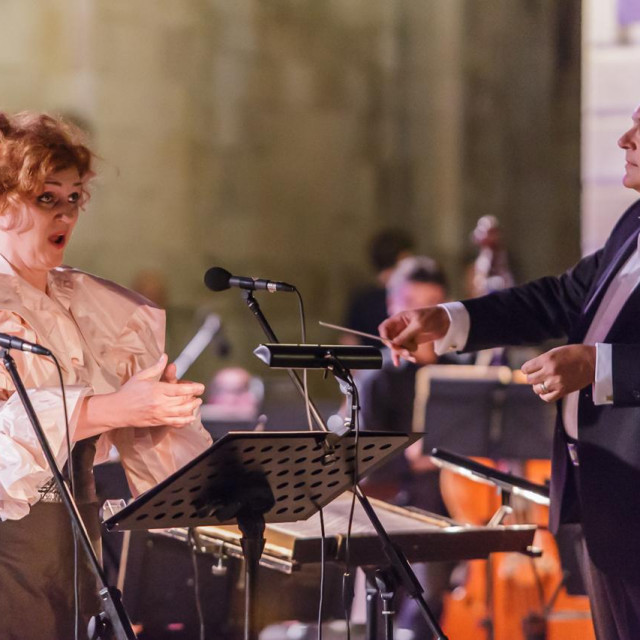Međunarodni festival 'Tino Pattiera' održan je ispred Katedrale