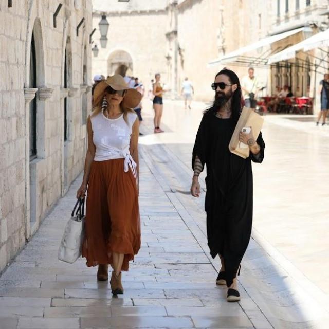 U điru Stradunom - kad celebrityji (pro)šetaju
