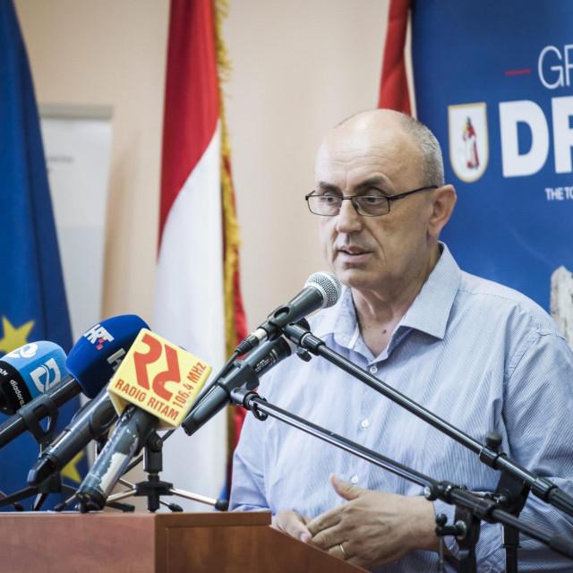 Josip Begonja, gradonačelnik Drniša