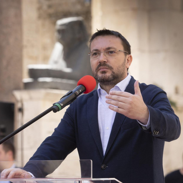 Arsen Bauk nije oduševljen ishodom parlamentarnih izbora<br /> <br />