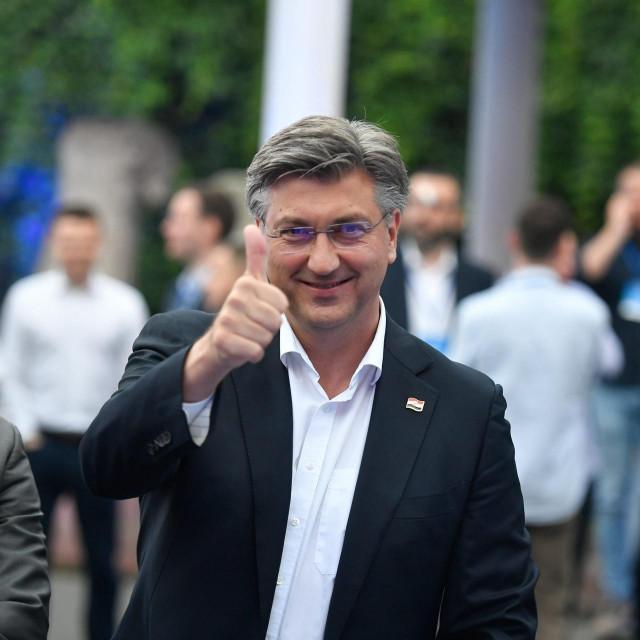 Andrej Plenković o izbornim rezultatima<br /> <br />