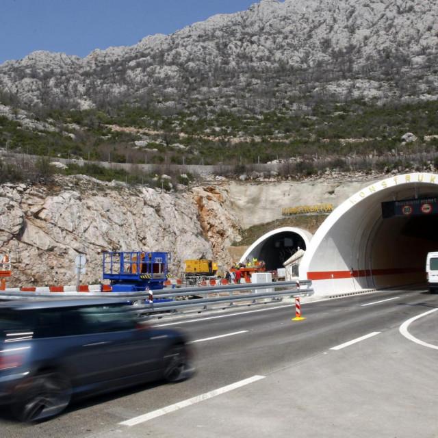 Ulaz u Tunel sv. Rok sa južne strane