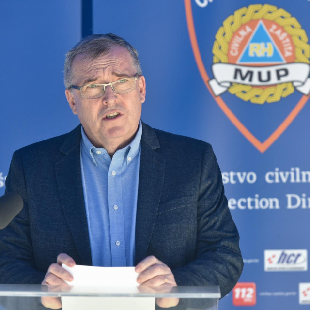 Na fotografiji: ravnatelj Hrvatskog zavoda za javno zdravstvo (HZJZ) Krunoslav Capak.<br />