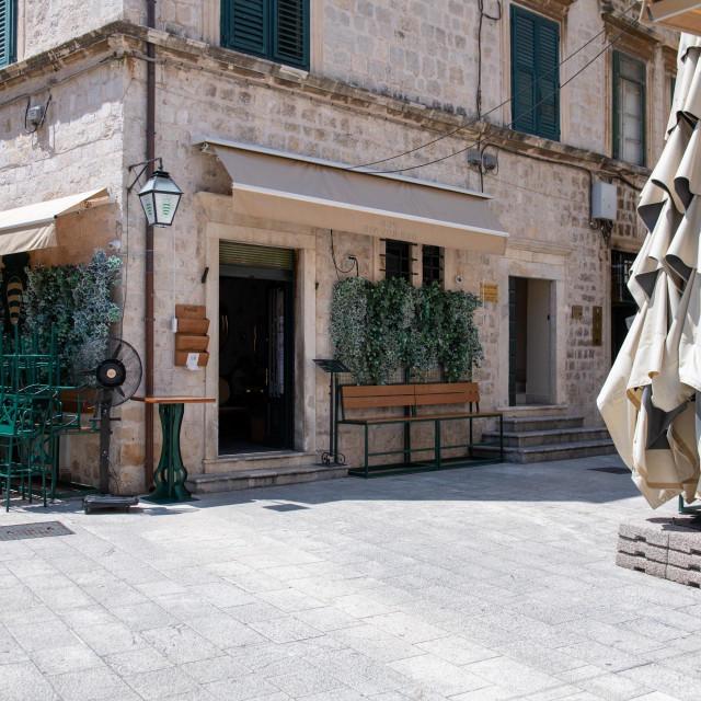 Pubu Dubrovnik zbog glazbe nakon 23 sata na sedam dana dignuta je terasa