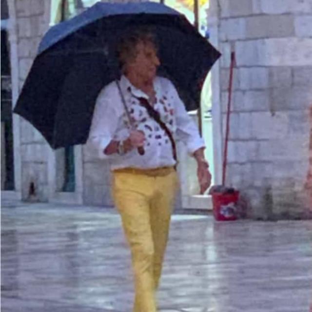 Britanska rock zvijezda Rod Stewart stigao u Dubrovnik