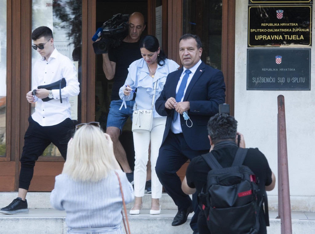 Minstar zdravstva Vili Beroš (HDZ) je osvojio najviše preferencijalnih glascova u Splitu