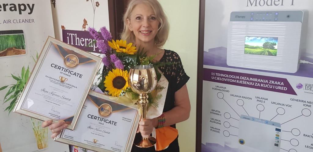 Inga Kovačić Sindik, nagrađena inovatorica<br />