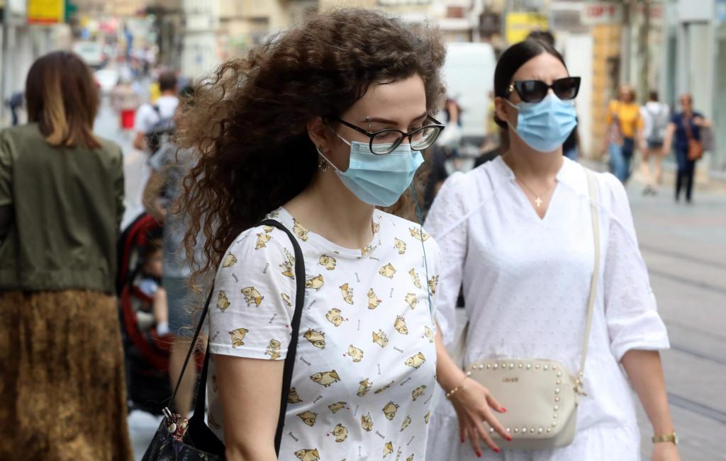 Zagreb, 300620.<br /> Zbog povecanja broja zarazenih koronavirusom sve vise gradjana nosi zastitne maske.<br />