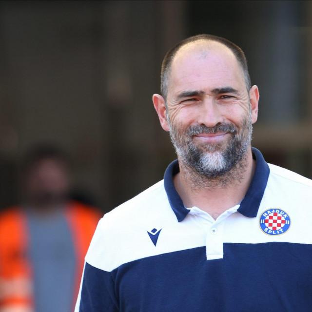 Split, 050720.<br /> U 33. kolu Prve HNL na Poljudu su se sastali Hajduk i Osijek.<br /> Na fotografiji: Igor Tudor<br />