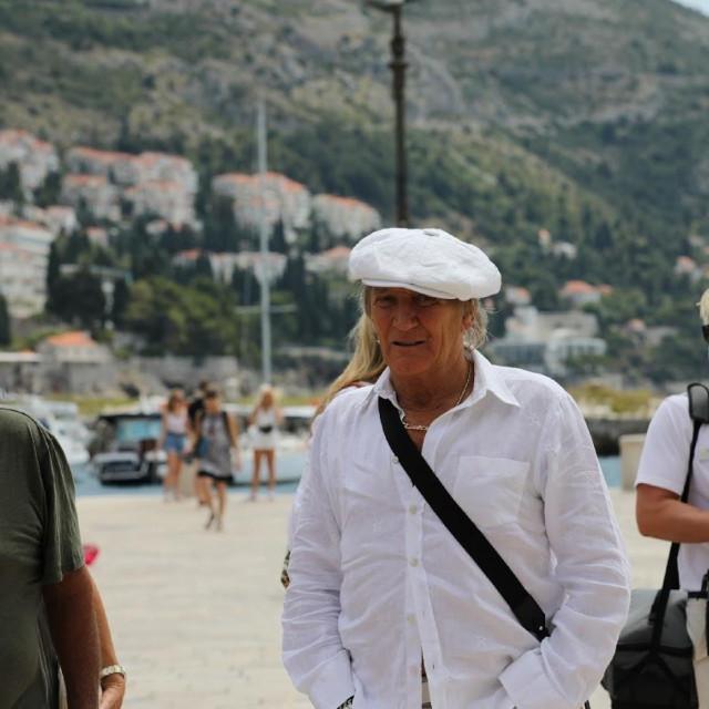 Popularni pjevač Rod Stewart na ljetovanju je u Dubrovniku