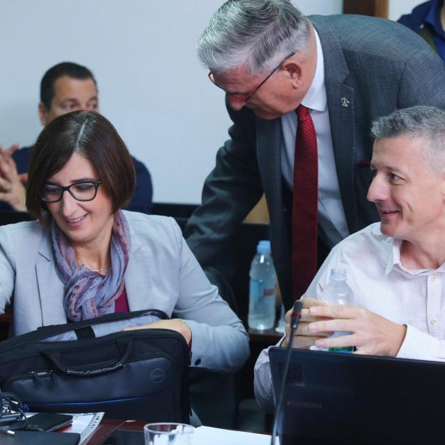 Marijana Puljak i Jakov Prkić godinama su na istoj strani u splitskom Gradskom vijeću