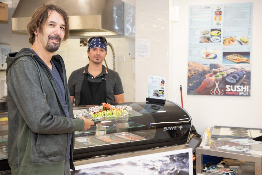 Glazbenik Nikola Čelan otvorio je Sushi corner