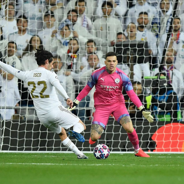 Manchester City i Real Madrid još moraju odigrati uzvratni susret osmine finala, prvi ogled na Santiago Bernabeuu je završio pobjedom 'građana' 2:1
