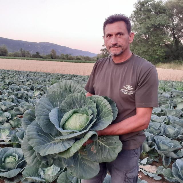 Nediljko Topić, poljoprivrednik iz Vinjana Donjih