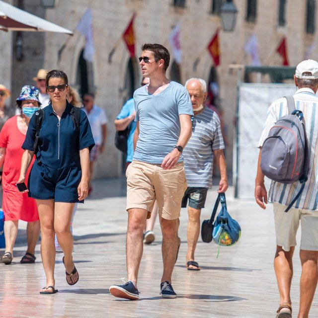 Dan nakon otvaranja Dubrovačkih ljetnih igara u Gradu