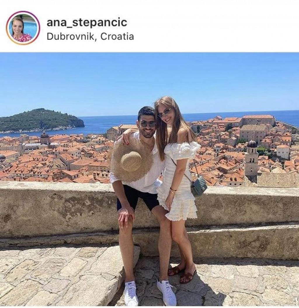 Ana i Luka Stepančić u Gradu