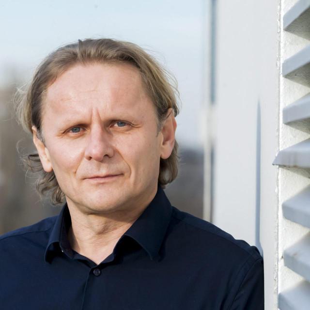 Frankfurt, 130219.<br /> Institut za biokemiju II.<br /> Na fotografiji: Ivan Djikic na krovu instituta.<br />
