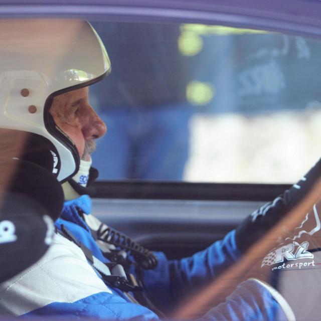 Niko Pulić na međunarodnoj auto brdskoj utrci 23. Nagradi Malačka Sveti Dujam foto: Tonči Vlašić