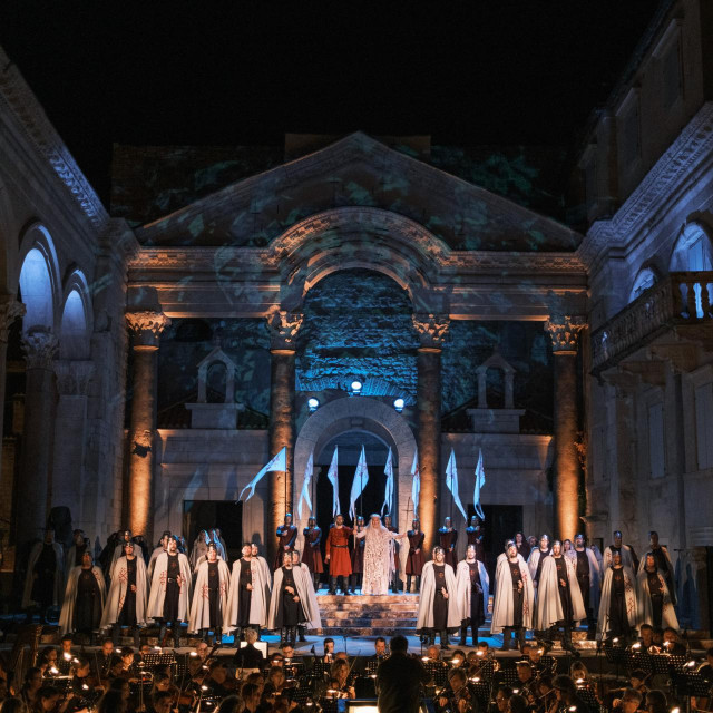 Opera Lombardijci na Peristilu<br /> Matko Biljak
