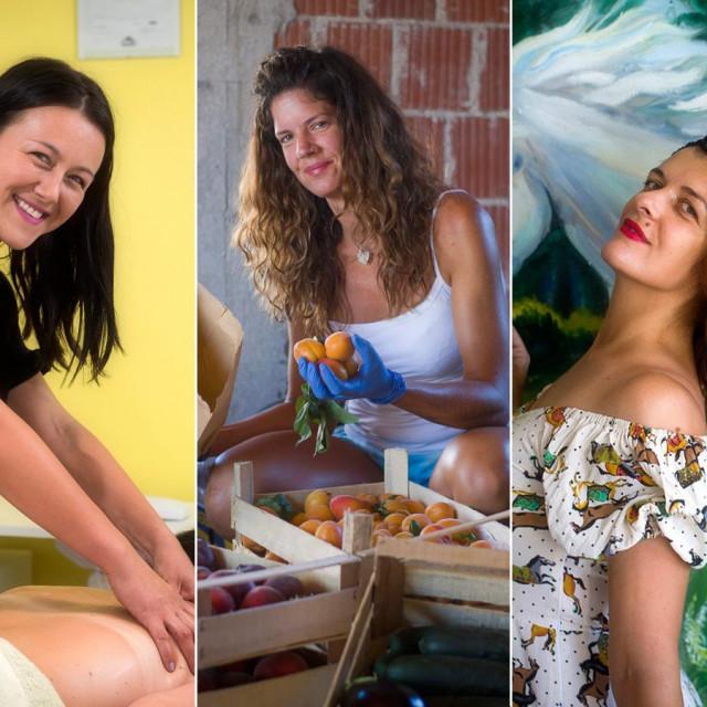 Tri poduzetnice: Marija Jurić Orhanović, Lea Jovanović i Sunčica Kuzmanić